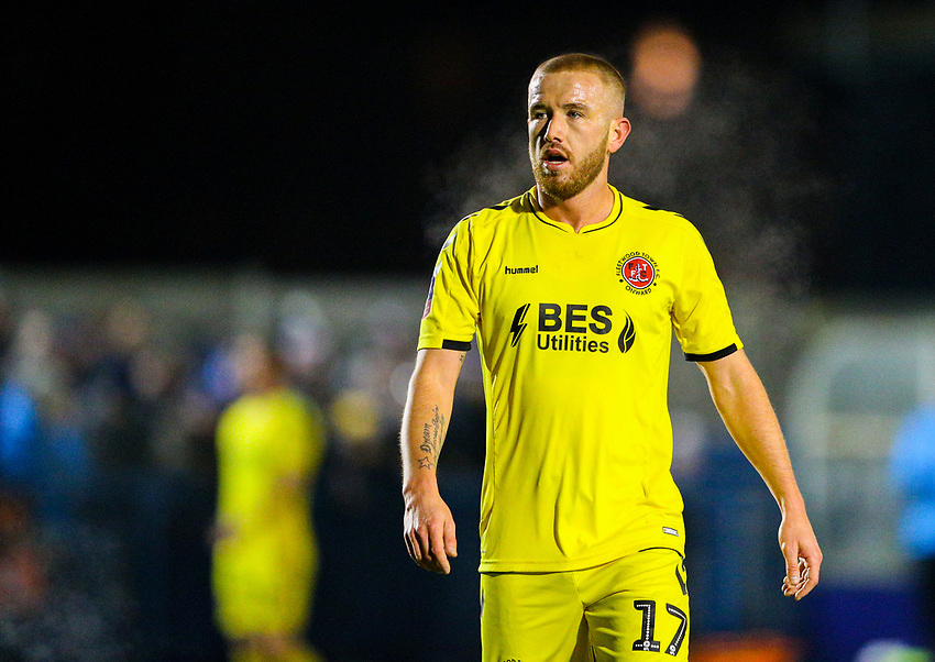 Fleetwood Town's Paddy Madden<br /> <br /> Photographer Alex Dodd/CameraSport<br /> <br /> The Emirates FA Cup Second Round - Guiseley v Fleetwood Town - Monday 3rd December 2018 - Nethermoor Park - Guiseley<br />  <br /> World Copyright © 2018 CameraSport. All rights reserved. 43 Linden Ave. Countesthorpe. Leicester. England. LE8 5PG - Tel: +44 (0) 116 277 4147 - admin@camerasport.com - www.camerasport.com