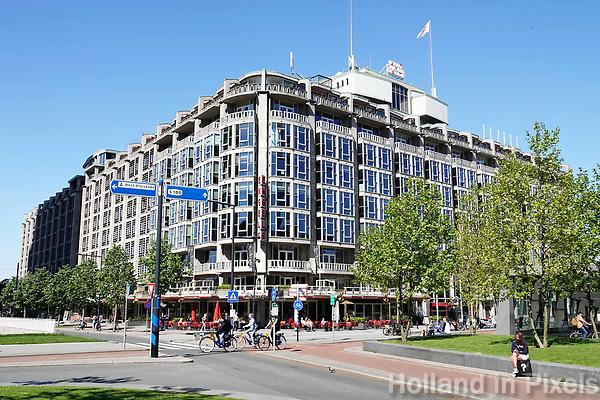 Nederland Rotterdam  2018. Het Groot Handelsgebouw naast Centraal station in Rotterdam. Foto Berlinda van Dam / Hollandse Hoogte