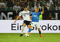 Nico Schulz (Deutschland Germany) gegen Taijo Teniste (Estland, Estonia) - 11.06.2019: Deutschland vs. Estland, OPEL Arena Mainz, EM-Qualifikation DISCLAIMER: DFB regulations prohibit any use of photographs as image sequences and/or quasi-video.