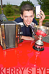MUSIC NOTES: David Keating from Rockchapel who won the Under 18 Melodian title at the All Ireland Fleadh Cheoil in Tullamore.   Copyright Kerry's Eye 2008