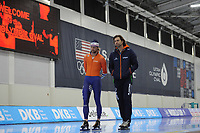 SPEEDSKATING: SALT LAKE CITY: 07-12-2017, Utah Olympic Oval, training ISU World Cup, ©photo Martin de Jong