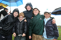 Enjoying the weather at the 3 Irish Open Golf in Baltray...Photo NEWSFILE/Jenny Matthews.(Photo credit should read Jenny Matthews/NEWSFILE)....This Picture has been sent you under the condtions enclosed by:.Newsfile Ltd..The Studio,.Millmount Abbey,.Drogheda,.Co Meath..Ireland..Tel: +353(0)41-9871240.Fax: +353(0)41-9871260.GSM: +353(0)86-2500958.email: pictures@newsfile.ie.www.newsfile.ie.FTP: 193.120.102.198.