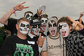 Jun 13, 2008: KISS - Fans in make-up - Download Festival Day 1