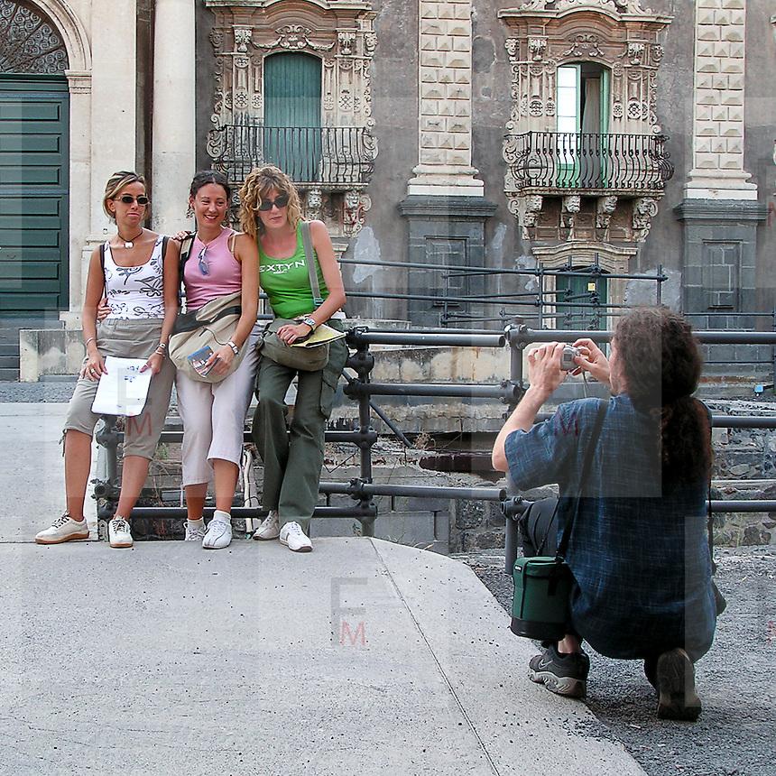 Una foto ricordo a Catania..A souvenir photo in Catania