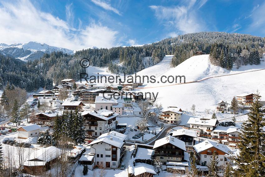 Austria, Tyrol, Wildschoenau: high valley at Kithbuehel Alps, district Auffach | Oesterreich, Tirol, Wildschoenau: Hochtal in den Kitzbueheler Alpen bei Woergl, Ortsteil Auffach