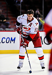 31 March 2010: Carolina Hurricanes' center Rod Brind'Amour warms up prior to a game against the Montreal Canadiens at the Bell Centre in Montreal, Quebec, Canada. The Hurricanes defeated the Canadiens 2-1 in their last home meeting of the regular season. Mandatory Credit: Ed Wolfstein Photo