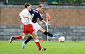 16/10/2010   Copyright  Pic : James Stewart.sct_jsp009_stirling_v_dundee  .:: LEIGH GRIFFITHS SCORES DUNDEE'S GOAL ::  .James Stewart Photography 19 Carronlea Drive, Falkirk. FK2 8DN      Vat Reg No. 607 6932 25.Telephone      : +44 (0)1324 570291 .Mobile              : +44 (0)7721 416997.E-mail  :  jim@jspa.co.uk.If you require further information then contact Jim Stewart on any of the numbers above.........
