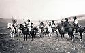 Iraq 1929 Kurdish riders  <br /> Irak 1929 Cavaliers kurdes