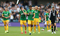 Preston North End's Andre Green leads the dejection at the final whistle<br /> <br /> Photographer Rob Newell/CameraSport<br /> <br /> The EFL Sky Bet Championship - Millwall v Preston North End - Saturday 3rd August 2019 - The Den - London<br /> <br /> World Copyright © 2019 CameraSport. All rights reserved. 43 Linden Ave. Countesthorpe. Leicester. England. LE8 5PG - Tel: +44 (0) 116 277 4147 - admin@camerasport.com - www.camerasport.com