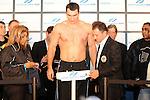Wiegen Wladimir Klitschko - Hasim Rahman 12.12.2008