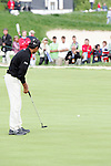 Jyoti Randhawa putts for birdie on the 18th hole in the final round of the Open de Espana in Madrid...Photo NEWSFILE/Manus O'Reilly.(Photo credit should read Manus O'Reilly/NEWSFILE)....This Picture has been sent you under the condtions enclosed by:.Newsfile Ltd..The Studio,.Millmount Abbey,.Drogheda,.Co Meath..Ireland..Tel: +353(0)41-9871240.Fax: +353(0)41-9871260.GSM: +353(0)86-2500958.email: pictures@newsfile.ie.www.newsfile.ie.FTP: 193.120.102.198..