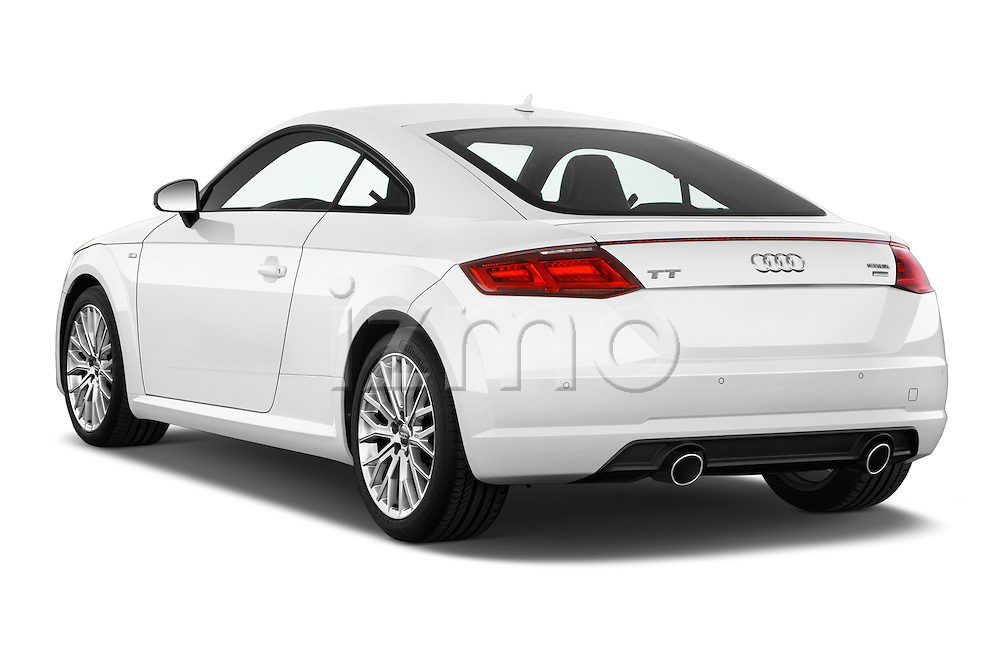 Car pictures of rear three quarter view of 2015 Audi TT Coupe S Line 3 Door Coupe Angular Rear