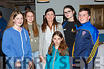 Carla Counihan, Fiona Brosnan, Emily and Mary Philpott, Katelyn Quirke, and Cian Lenihan at the opening of the new Rathmore social action offices in Rathmore Presentation on Sunday