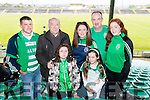 Pictured at the senior Hurling replay Kilmoyley v Ballyduff, held in Austin Stack Park, Tralee on Saturday evening last, were l-r: Patrick Quinlan, Mike Joe Quinlan, Molly Duignan, Aine White, Shauna Quinlan with Mike and Leah White.