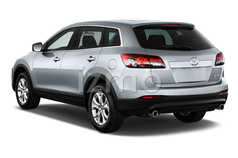 Rear three quarter view of a 2013 Mazda CX9