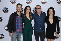 08 January 2018 - Pasadena, California - Jeff Ward, Chloe Bennet, Clark Gregg, Ming-Na Wen. 2018 Disney ABC Winter Press Tour held at The Langham Huntington in Pasadena. <br /> CAP/ADM/BT<br /> &copy;BT/ADM/Capital Pictures