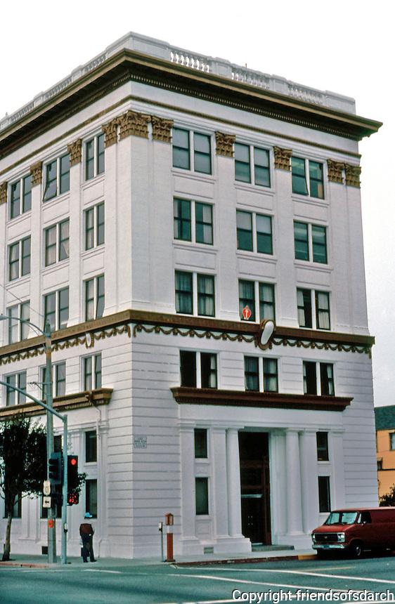 "Eureka CA: Eureka Office Building, c. 1910. 380 E Street. ""Roman Renaissance Revival in the Spirit of McKim, Meade & White"".   Photo '83."
