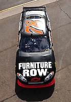 Nov. 13, 2009; Avondale, AZ, USA; NASCAR Sprint Cup Series driver Regan Smith during practice for the Checker O'Reilly Auto Parts 500 at Phoenix International Raceway. Mandatory Credit: Mark J. Rebilas-