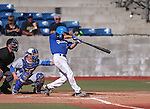 Wildcats' David Modler bats in a college baseball game at Western Nevada College in Carson City, Nev., on Thursday, March 5, 2015. <br /> Photo by Cathleen Allison/Nevada Photo Source