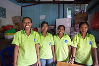 January 28th 2011_ Baucau, TIMOR-LESTE_ A group of women in Baucau, Timor-Leste produce all natural handmade bars of soap.    Photographer: Daniel J. Groshong/The Hummingfish Foundation