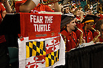 04 March 2012: The Maryland Terrapins during a 68-65 win over the Georgia Tech Yellow Jackets during the ACC championship in Greensboro, NC.