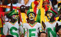 (180624) -- YEKATERINBURG, June 24, 2018 -- Fans of Senegal cheer prior to the 2018 FIFA World Cup WM Weltmeisterschaft Fussball Group H match between Japan and Senegal in Yekaterinburg, Russia, June 24, 2018. ) (SP)RUSSIA-YEKATERINBURG-2018 WORLD CUP-GROUP H-JAPAN VS SENEGAL LiuxDawei PUBLICATIONxNOTxINxCHN  <br /> YEKATERINBURG 24-06-2018 Football FIFA World Cup Russia  2018 <br /> Japan - Senegal / Giappone - Senegal<br /> Foto Xinhua/Imago/Insidefoto