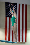 BIRMINGHAM, AL - MARCH 11: Angela Probstfeld of Northern Michigan University competes in the 3 meter diving competition during the Division II Men's and Women's Swimming & Diving Championship held at the Birmingham CrossPlex on March 11, 2017 in Birmingham, Alabama. (Photo by Matt Marriott/NCAA Photos via Getty Images)
