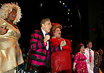 Harvey Fierstein, Marissa Jaret Winokur, Dick Latessa, Mary Bond Davis and the Cast <br />( Curtin Call )<br />HAIRSPRAY The Broadway Musical<br />Opening Night at the Neil Simon Theatre<br />Party at Roseland<br />New York City<br />August 15,2002