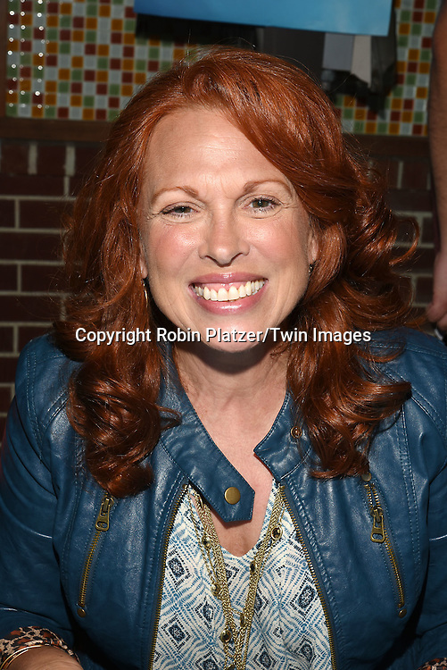 Carolee Carmello attends the Broadway Cares/Equity Fights Aids Flea Market and Grand Auction on September 25, 2016 at the Music Box Theatre and in Shubert Ally in New York, New York, USA. <br /> <br /> photo by Robin Platzer/Twin Images<br />  <br /> phone number 212-935-0770