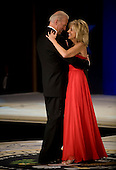 Washington, DC - January 20, 2009 -- United States Vice President Joseph Biden dances with his wife, Jill, at the Commander-in-Chiefs Ball at the National Building Museum, Washington, D.C., Tuesday, January 20, 2009. The ball, hosted by United States President Barack Obama, honored Americas service members, families the fallen and wounded warriors. .Credit: Chad J. McNeeley - DoD via CNP