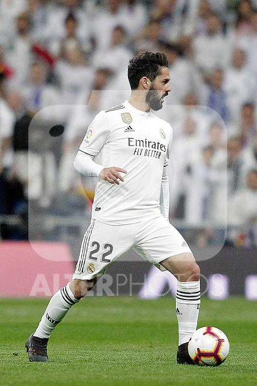 Real Madrid CF's Isco Alarcon during La Liga match. March 02,2019. (ALTERPHOTOS/Alconada)