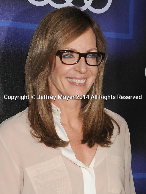 LOS ANGELES, CA- AUGUST 21: Actress Allison Janney arrives at the Audi Emmy Week Celebration at Cecconi's Restaurant on August 21, 2014 in Los Angeles, California.
