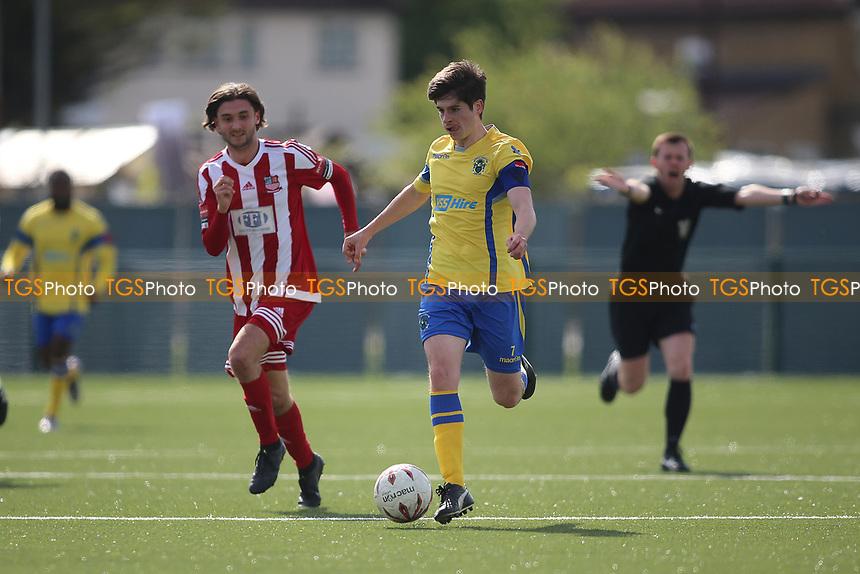 Daniel Aristidou of Haringey during Haringey Borough vs Bowers & Pitsea, Ryman League Division 1 North Football at Coles Park Stadium on 15th April 2017
