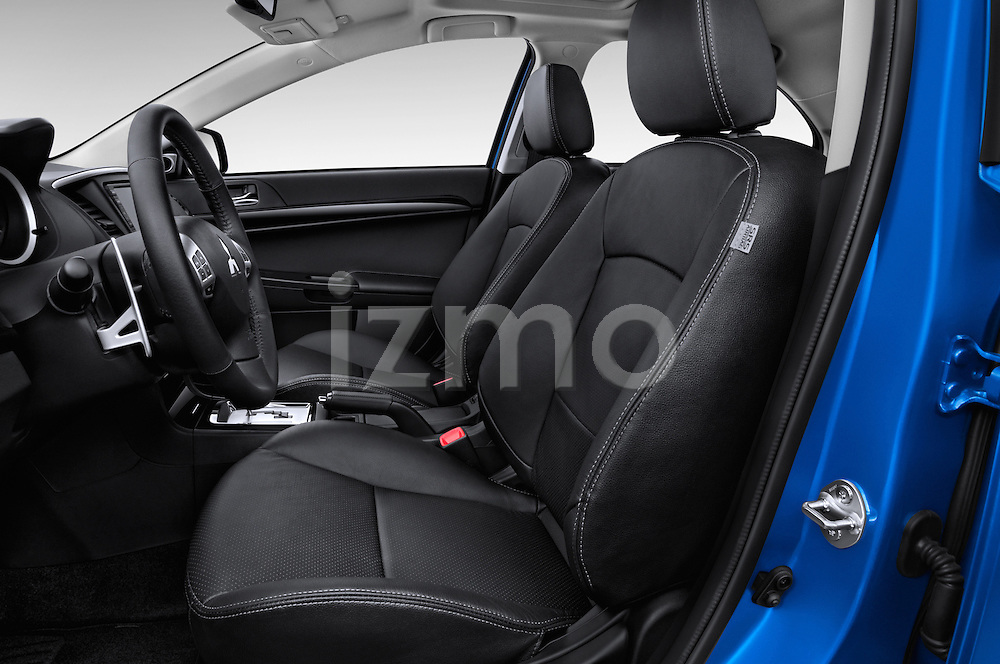 Front seat view of a 2015 Mitsubishi Lancer  Sportback 5 Door Hatchback front seat car photos