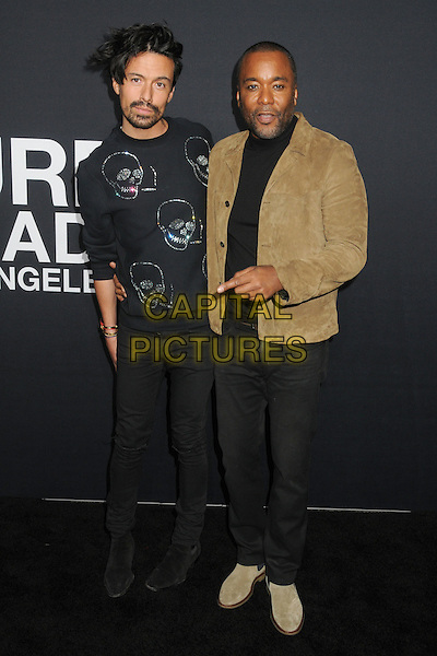 10 February 2016 - Los Angeles, California - Jahil Fisher, Lee Daniels. Saint Laurent At The Palladium held at the Hollywood Palladium. <br /> CAP/ADM/BP<br /> &copy;BP/ADM/Capital Pictures