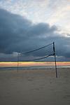 Grove Beach Point Terrace volleyball net on beach