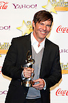 US actor Dennis Quaid receives the Male Star of the Year Award at the 2009 ShoWest Awards in Las Vegas, California 2 April 2009. The closing night ceremony for the 2009 ShoWest features top film industry talent at the final night banquet and awards ceremony.