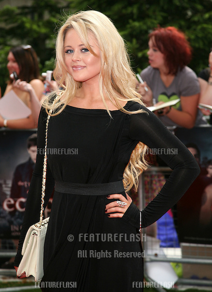 Emily Atack arriving for the UK Premiere of 'The Twilight Saga: Eclipse', at Odeon Leicester Square, London. 02/07/2010  Picture by: Alexandra Glen / Featureflash