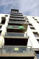 LONDRES, UK,  28 DE AGOSTO  - JOGOS PARALIMPICOS LONDRES 2012 - Vista do predio da delegacao brasileira paraolimpica e visto na Vila Olimpica em Londres, amanha acontece a cerimonia de abertura. FOTO: GEORGINA GARCIA/ BRAZIL PHOTO PRESS.
