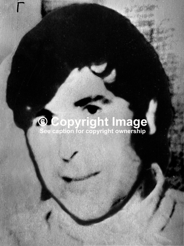 Kevin Mallon, one of 19 Provisional IRA men who escaped from Portlaoise Prison, 18th August 1974. 197408180459KM..Copyright Image from Victor Patterson, 54 Dorchester Park, Belfast, United Kingdom, UK...For my Terms and Conditions of Use go to http://www.victorpatterson.com/Victor_Patterson/Terms_%26_Conditions.html