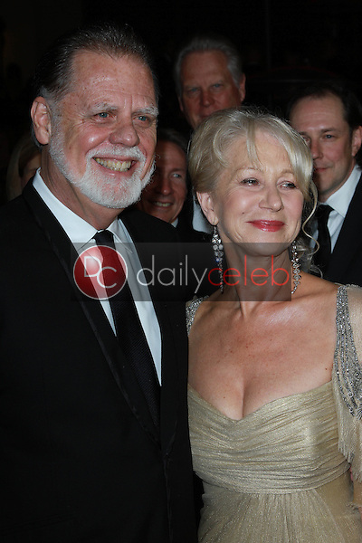 Taylor Hackford and Helen Mirren<br />