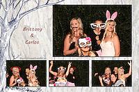Brittany & Carlos Wedding Photo Booth 10/3/14