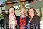 Maureen Lynch, Eithne Reen and Sadie Lenihan Rathmore at the All Star Radio Kerry 25th anniversary concert in the INEC on Wednesday evening