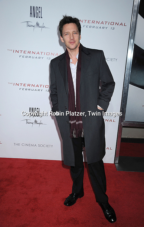 """Andrew McCarthy..attending The Cinema Society and Columbia Pictures world premiere of """"The International"""" on February 9, 2009 at ..the AMC Lincoln Square in New York City. Clive Owens and Naomi Watts are the stars of the movie. ....Robin Platzer, Twin Images"""