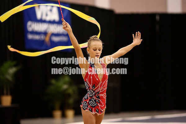 Photo by John Cheng - VISA Championships 2007 in San Jose, CA.RhythmicsTorba