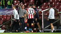 Brentford Manager, Thomas Frank celebrates their victory t the final whistle during Brentford vs Swansea City, Sky Bet EFL Championship Play-Off Semi-Final 2nd Leg Football at Griffin Park on 29th July 2020