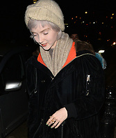 Lily Cole attending Rolling Stone Mick Jagger's Christmas party in London, UK.<br /> <br /> DECEMBER 13th 2018. Credit: Matrix/MediaPunch ***FOR USA ONLY***<br /> <br /> REF: LTN 184623