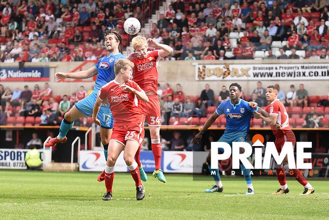Swindon Town v Grimsby Town Sky Bet League 2 21/04/2018