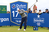 Bernd Wiesberger (AUT) tees off the 17th tee during Saturday's Round 3 of the Dubai Duty Free Irish Open 2019, held at Lahinch Golf Club, Lahinch, Ireland. 6th July 2019.<br /> Picture: Eoin Clarke | Golffile<br /> <br /> <br /> All photos usage must carry mandatory copyright credit (© Golffile | Eoin Clarke)