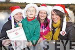 XMAS DAY DIP: Organisers of the Christmas Day Swim at Inch which will raise money for the children's ward at Kerry General Hospital, l-r: Aisling O'Meara, Callum Russell, Deirdre Hayes, Karen O'Connor.